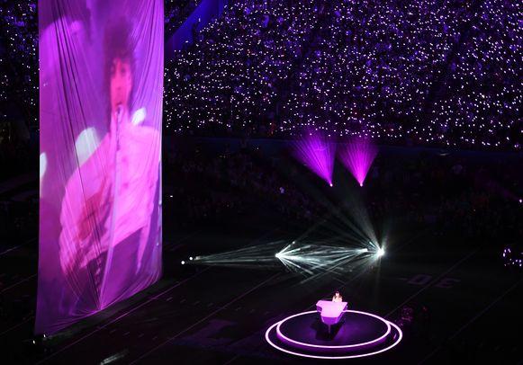 Justin Timberlake zingt 'duet' met Prince.