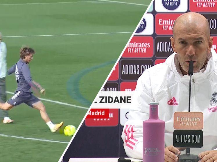 Zinedine Zidane: 'Barcelona kan het ons moeilijk maken'