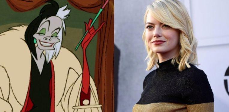 Emma Stone zal Cruella De Vil spelen.