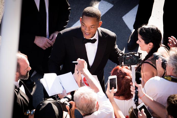 Will Smith op het filmfestival van Cannes.