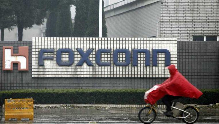 De FoxConn-fabrieken op archiefbeeld. Beeld epa