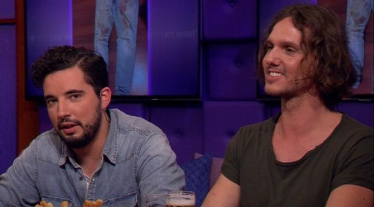 Dexter (l) en Ferry vertellen bij RTL Nieuws over hun gebeurtenissen Beeld
