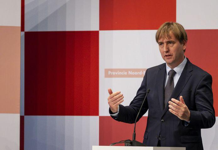 Eric de Bie, provinciebestuurder voor Forum voor Democratie in Brabant.