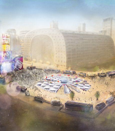Rotterdam kijkt vooruit: plannen voor Eurovisie Songfestival blijven én worden beter