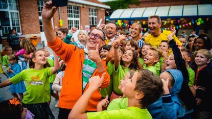 De Kampioenen op de speelplaats: deze school in Rumst startte het schooljaar in stijl