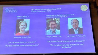 Drie onderzoekers delen Nobelprijs Scheikunde