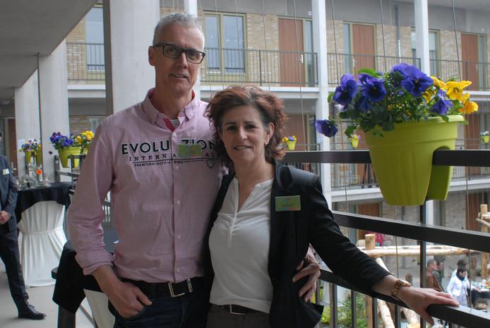 René en Anne-Marie Looman runnen het woonproject Vivent Het Andere Wonen in Schijndel.