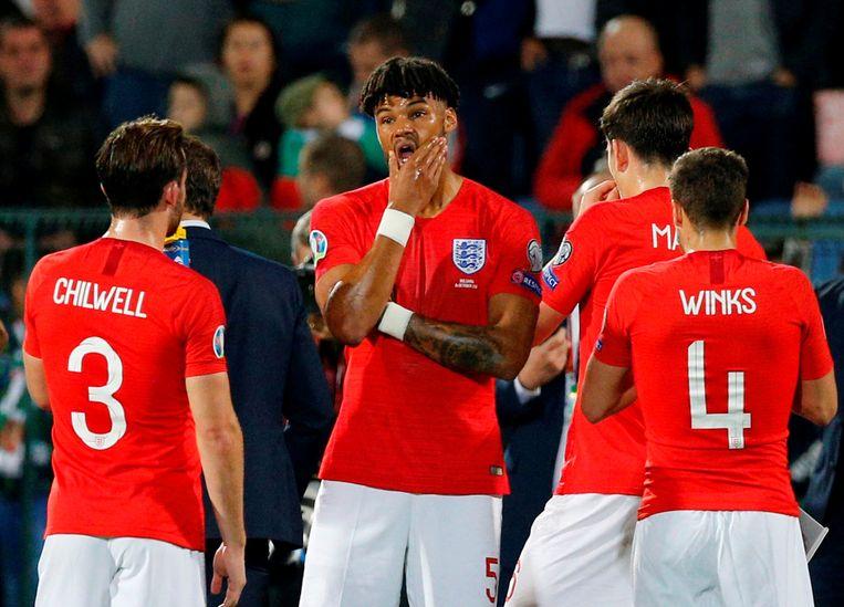 Tijdens Bulgarije-Engeland werden enkele spelers van Engeland het slachtoffer van racistische spreekkoren.