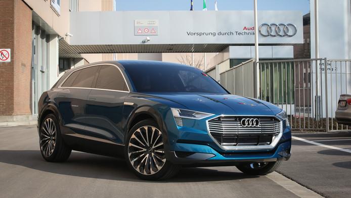 La production du nouveau Audi Q6 E Tron débutera au moins d'août dans l'usine de Forest.