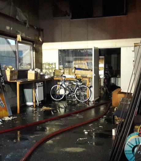 Ander pand in Hardinxveld voor door brand verwoest bedrijf