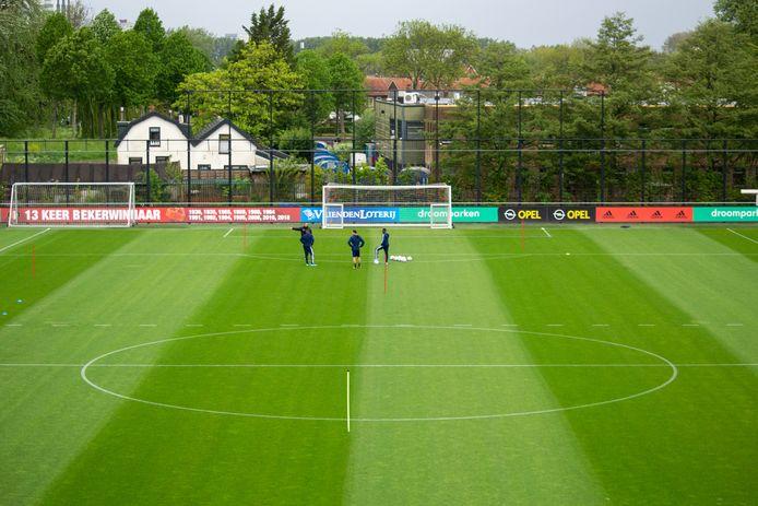 Feyenoord trainde vandaag weer