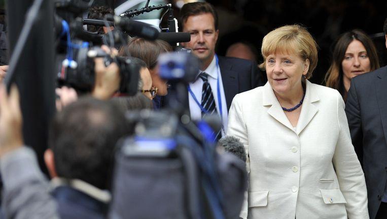 De Duitse bondskanselier Angela Merkel. Beeld ANP