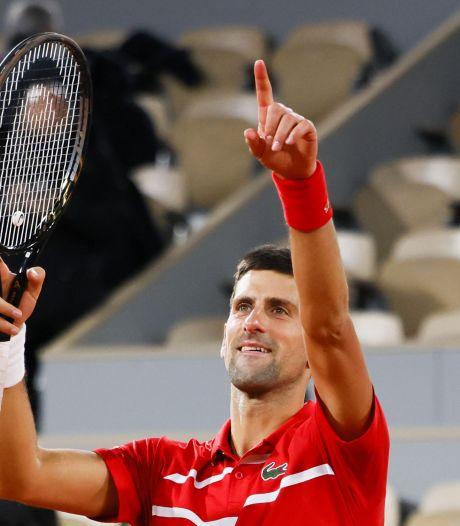 Djokovic a dû batailler pour vaincre Tsitsipas mais s'offre un duel au sommet contre Nadal