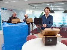 Duizenden laptops voor basisschoolkinderen dankzij oproep van gemeente Rotterdam