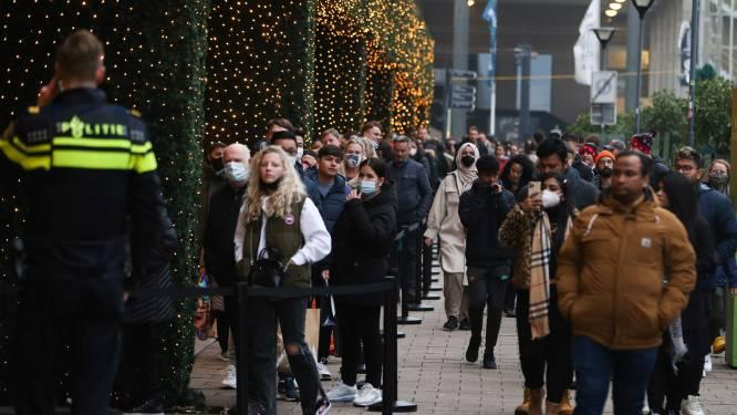 """Nederland voert geen landelijke regels door om drukte in winkelcentra tegen te gaan, """"Belgen, blijf gewoon in uw eigen land"""""""