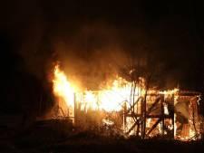 Asbest vrijgekomen bij brand in verlaten schuurtje in Vught