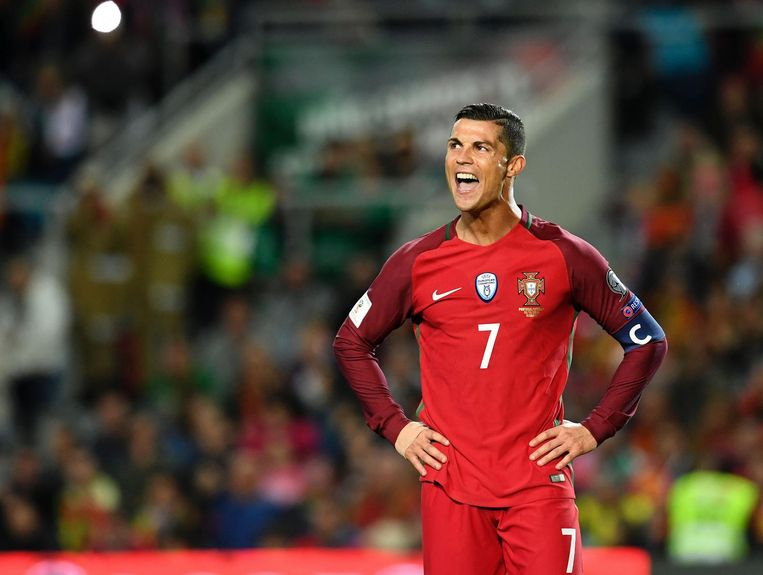 Cristiano Ronaldo Beeld null