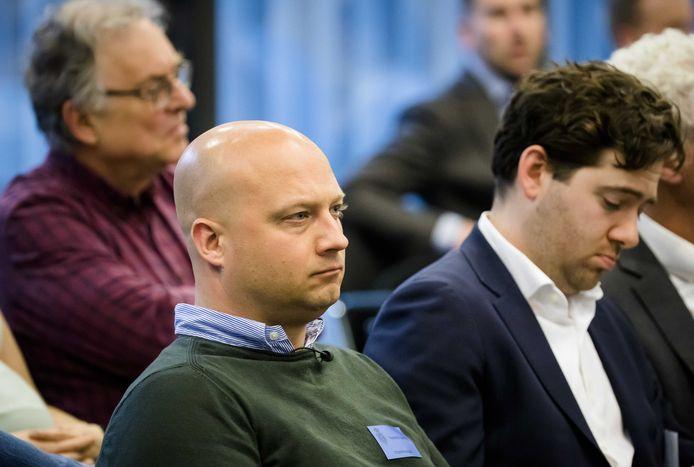 Edwin Renzen eerder dit jaar tijdens een debat in de Tweede Kamer over de Stint.