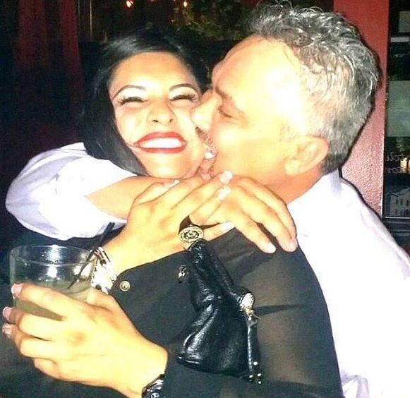 Bill met zijn maîtresse Bonnie.