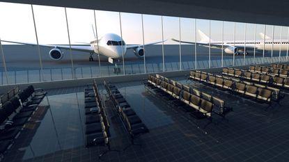 """WK voetbal: """"Werken in luchthavens lopen vertraging op"""""""