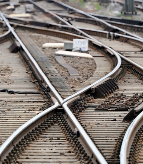 Treinverkeer plat tussen Amersfoort en Utrecht