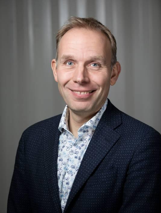 GroenLinks-lijsttrekker Huib van Essen.