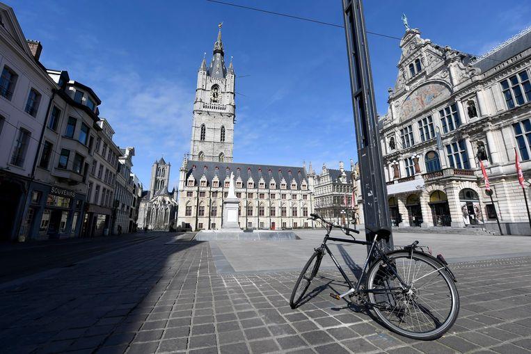 Sint-Baafsplein, Gent.