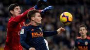 Nieuwe clean sheet voor sterke Courtois: Real Madrid rekent af met Valencia en ingevallen Batshuayi