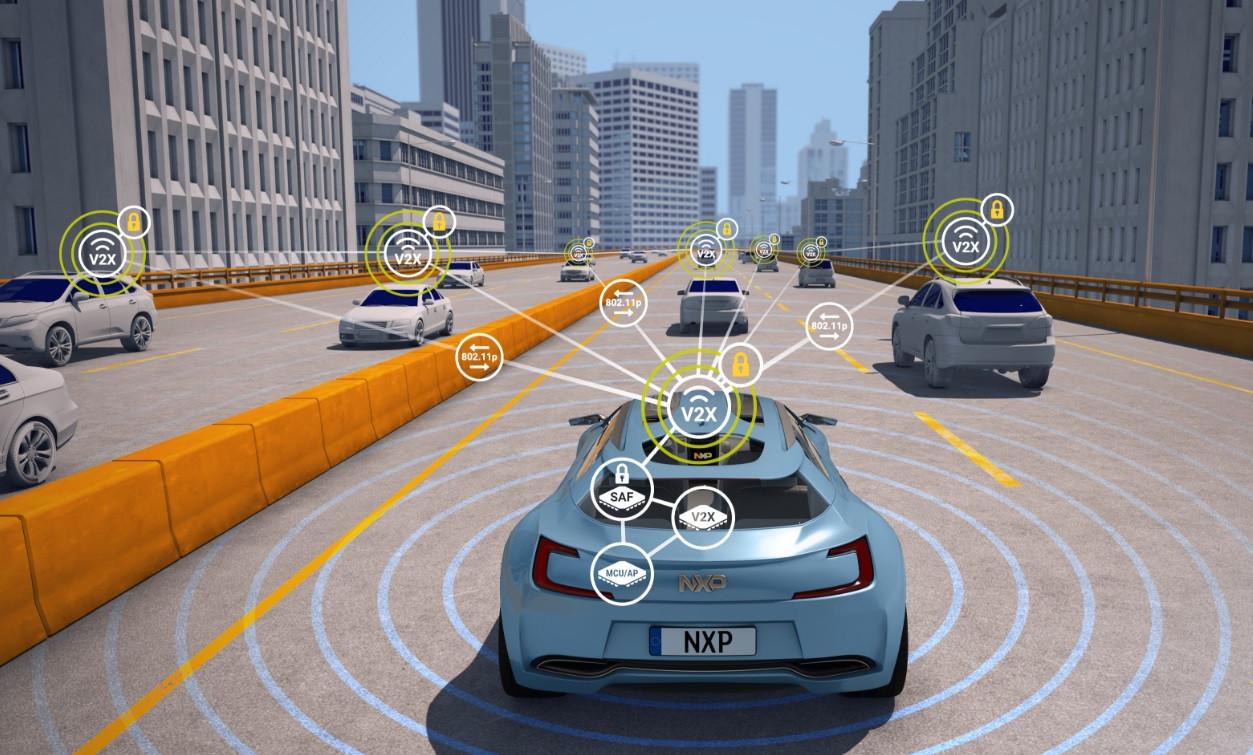 Communicatiechips van NXP zorgen voor contact binnen en buiten auto's.