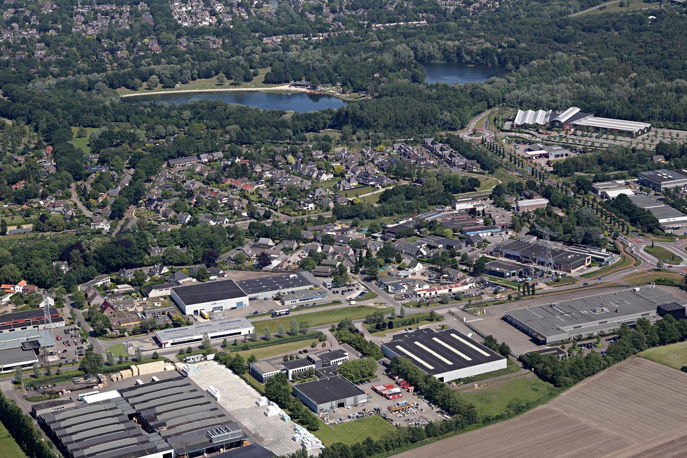 Bedrijventerrein Eeneind in Nuenen.
