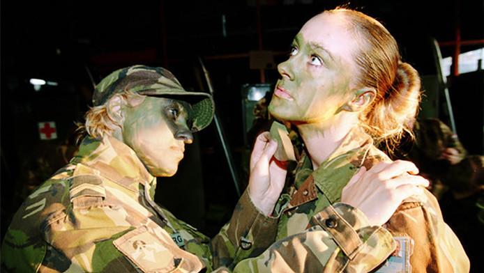 Het is een gemiste kans dat het leger zo weinig vrouwen telt. 'Vrouwen hebben belangrijke kwaliteiten.'