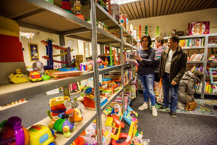 De Speelgoedbank in Waalwijk