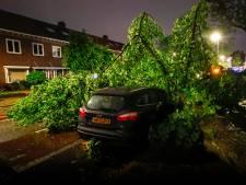 Tornado, boom op auto jong gezin en afgerukte daken: zware storm hield deel Nederland in de ban