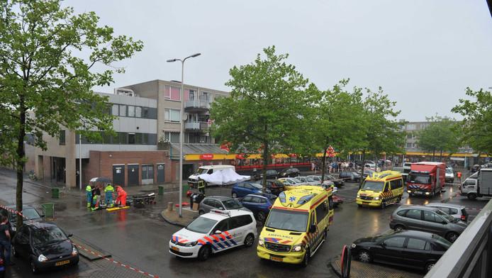 Het winkelcentrum in Alphen aan den Rijn