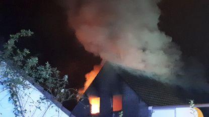 Uitslaande woningbrand in Aarschot: dochter maakt vader op tijd wakker