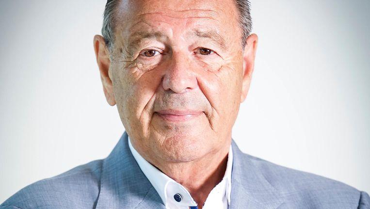 Max Abram: 'Al die Joodse jongetjes die uit de oorlog kwamen, die knokten tegen elkaar in de textielbranche.' Beeld Menno Ringnalda