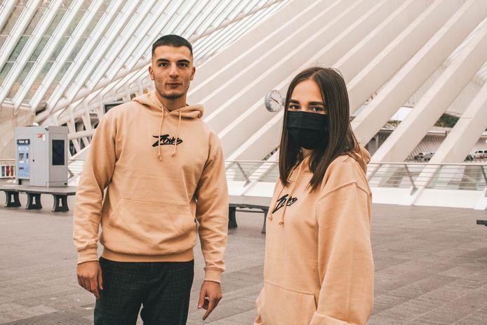 La marque liégeoise Zoned propose avant tout des t-shirt et des hoodies, mais Karim envisage de créer des design pour des chemises.