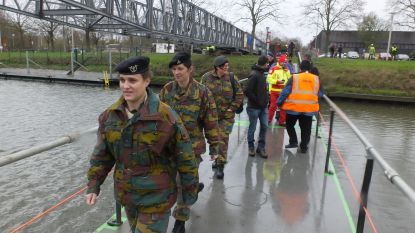 Laatste dag Donza Response: leerlingen Sint-Hendrik geëvacueerd en noodbrug over Leie geschoven