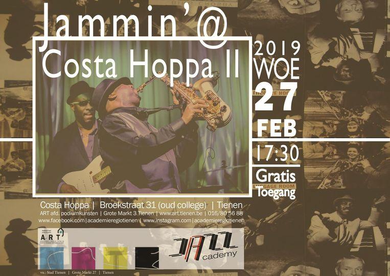 Jamming bij Costa Hoppa
