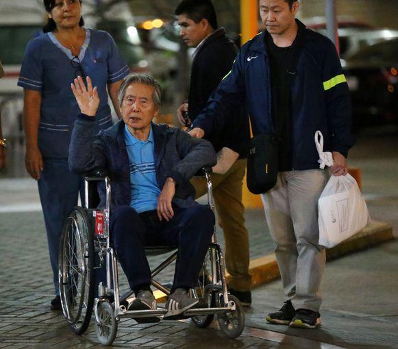 Alberto Fujimori in januari van dit jaar.