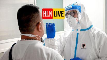 OVERZICHT. In totaal meer dan 75.000 besmettingen, ook het aantal ziekenhuisopnames stijgt opnieuw lichtjes