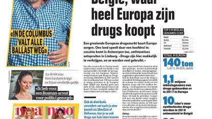 België, waar heel Europa zijn drugs koopt