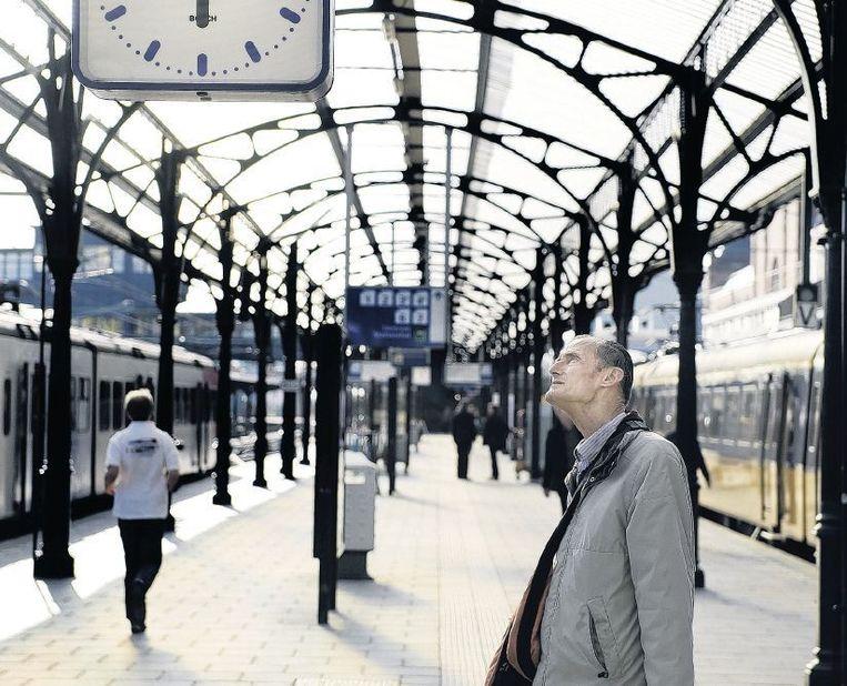 Een snellere spoorverbinding van Groningen naar het Westen staat hoog op het wensenlijstje van de noordelijke provincies. Beeld Reyer Boxem