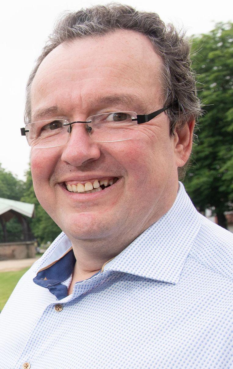 Peter Decordier, die samen met SV Oudenaarde het WK-event aan de Qubus organiseert.