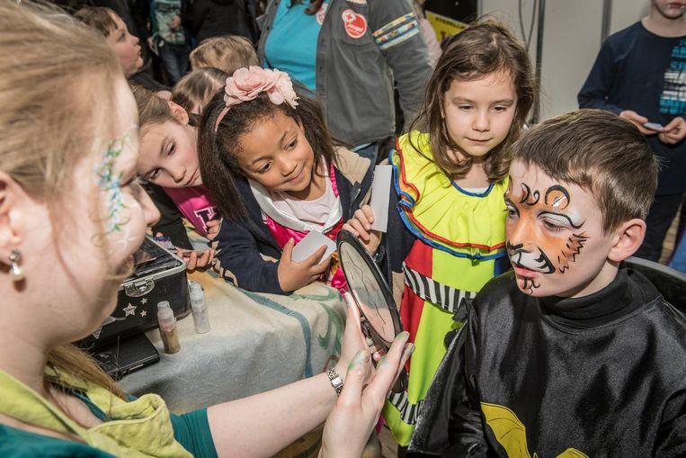 Zaterdag was er al het Rodenbachcarnaval voor verklede kinderen.