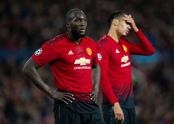 Romelu Lukaku et Chris Smalling