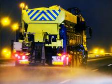 Provincie stuurt strooiwagens de weg op in Twente