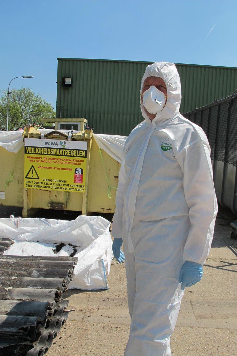 MIWA gaat de ophaling aan huis van asbesthoudende golfplaten voortzetten.