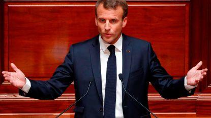 """Macron wil """"kader en regels"""" voor de islam in Frankrijk"""