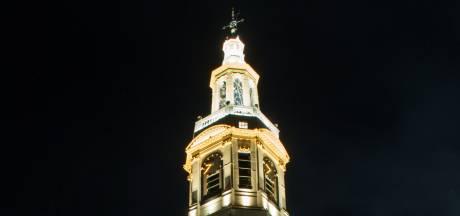 'Mooiste kerktoren van Nederland' eindelijk weer verlicht